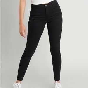 Black Garage High Waist Skinny Jeans size 3